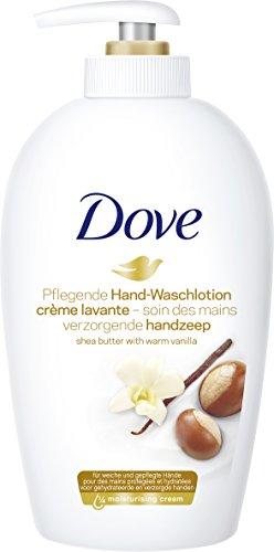 6 Envases de jabón de manos Dove con Karité y vainilla (6x250ml) por 9€!!