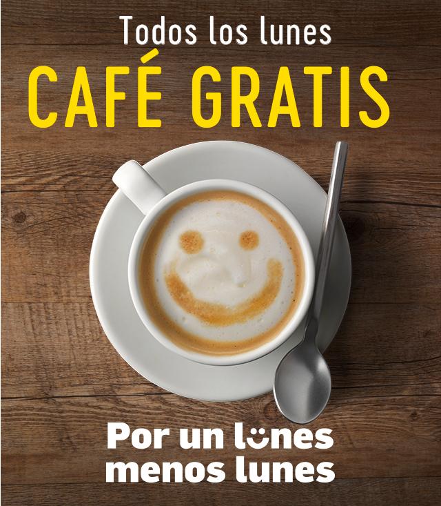 CAFE GRATIS LOS LUNES EN MCDONALDS