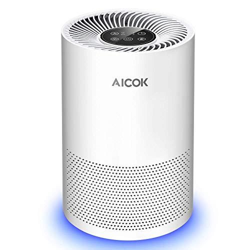 Purificador de Aire Aicok Filtro HEPA solo 44.9€