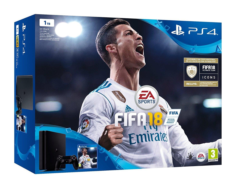 Playstation 4 1TB Con Fifa 18 solo 276€
