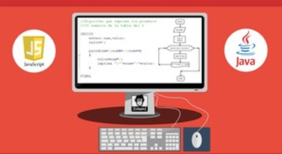 Udemy: Curso Fundamentos de Programación, Algoritmos en java y JavaScript