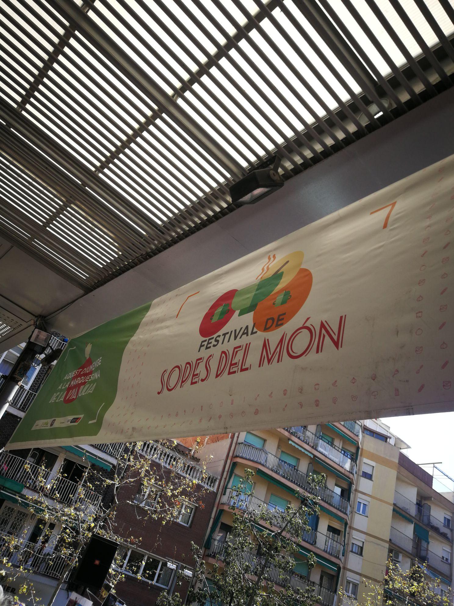 Festival de sopas del mundo en Barcelona