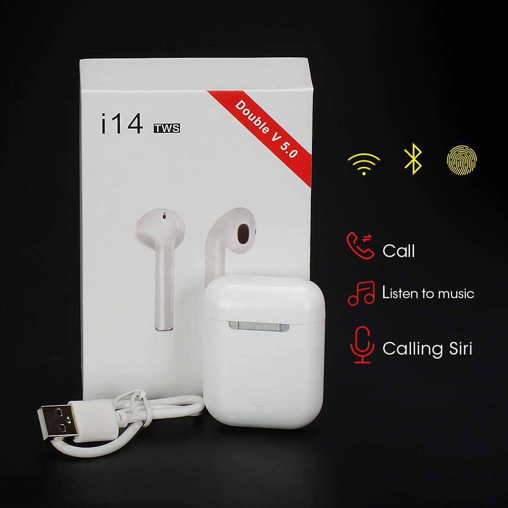 Auriculares i14 TWS inalámbricos