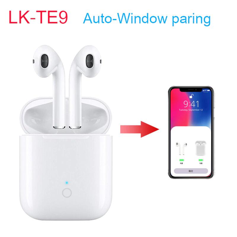 Auriculares LKTE9 tws tipo airpods mejor precio.