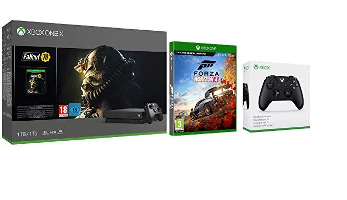 Xbox One X 1TB 2 Juegos(a elegir) + Mando