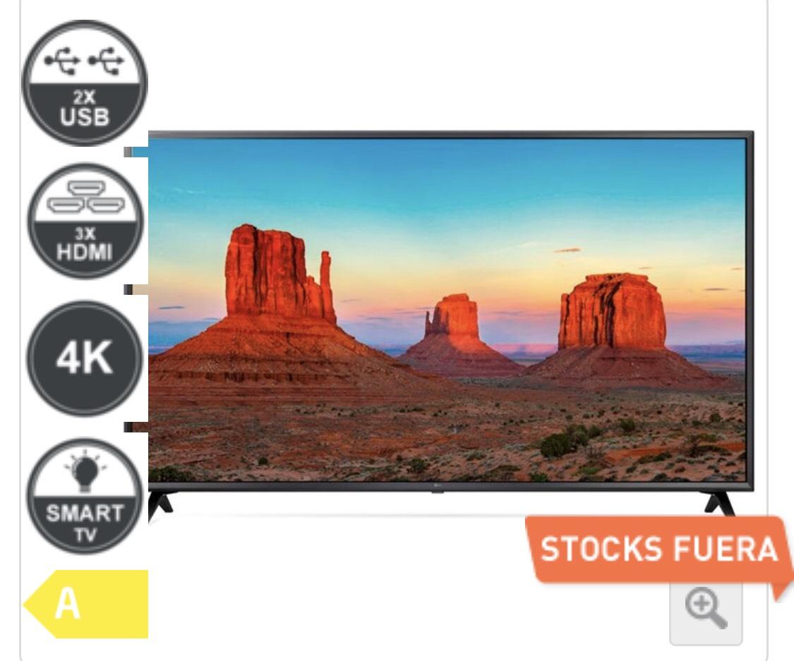 "LG 49"" UHD 4k Smart TV"