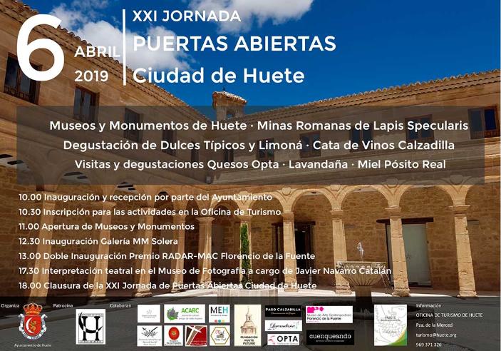 Jornada de Puertas Abiertas de Monumentos y Museos en Huete Cuenca