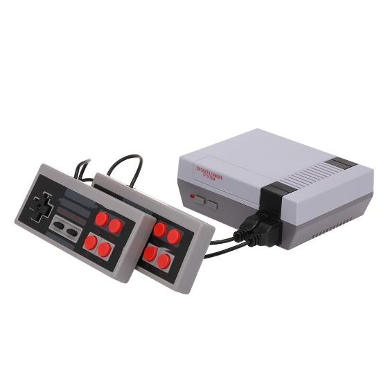 Mini consola retro con 2 mandos