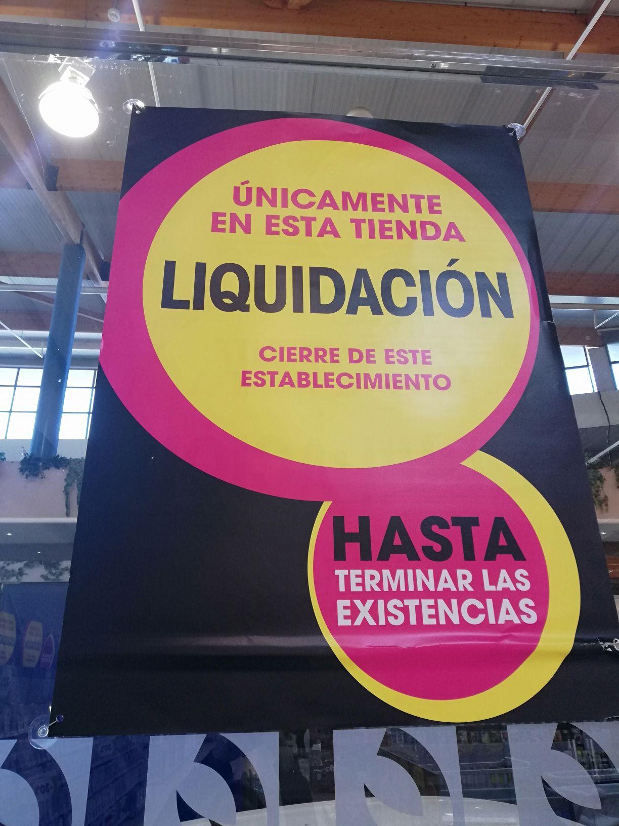 Liquidación Eroski Molina de Segura