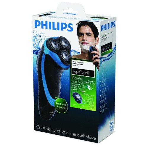 Philips AT750/16 - Afeitadora de 3 cabezales