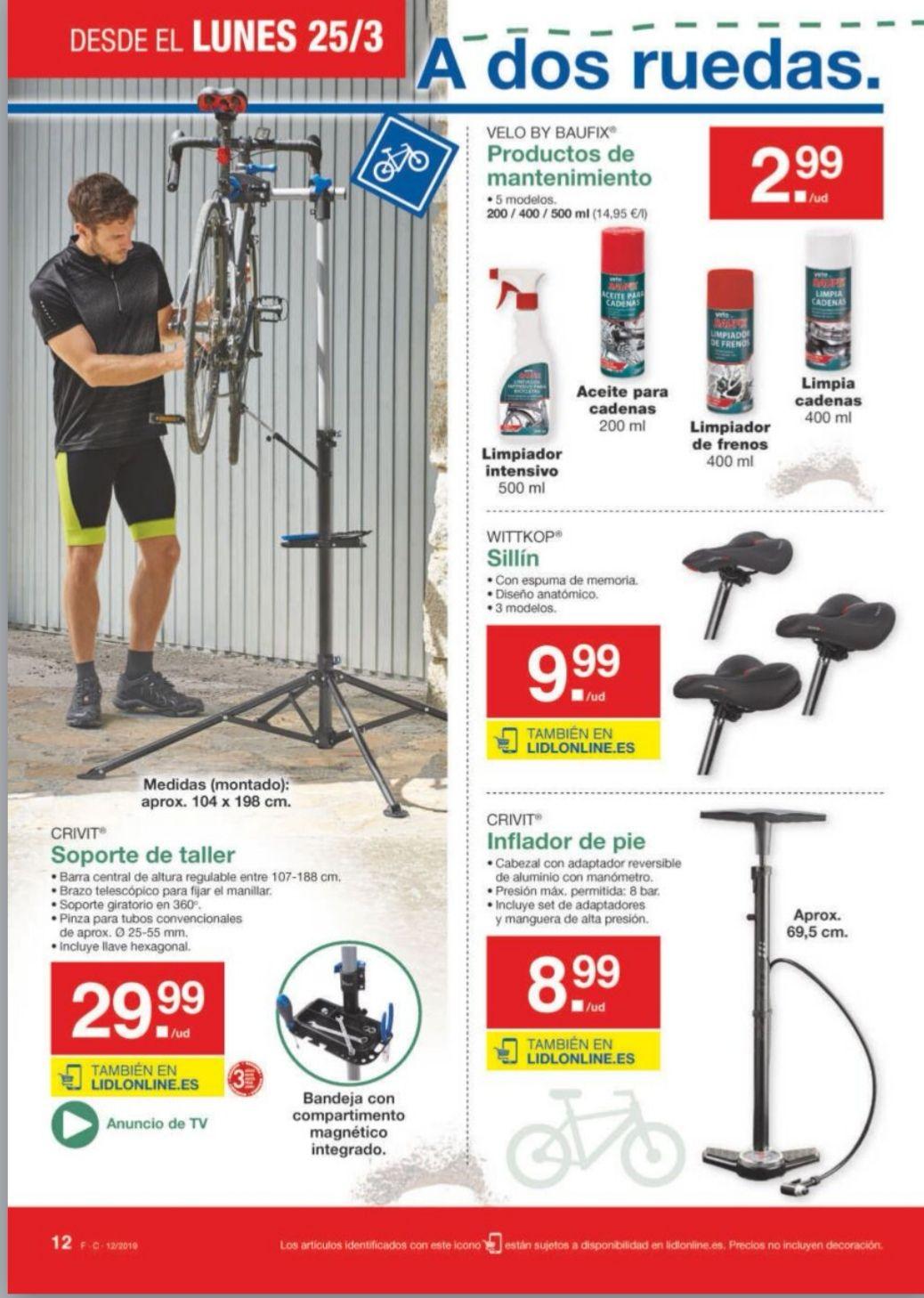 Soporte taller bicicletas y +!