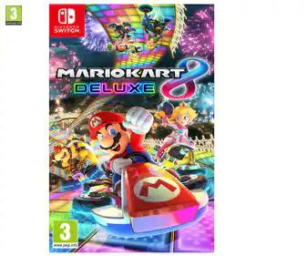 Mario Kart 8 Deluxe para Nintendo Switch 36,99€