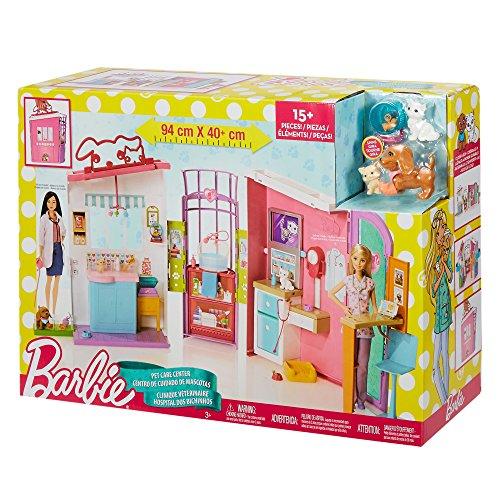 Barbie Clínica de Mascotas - 94 x 40 cm