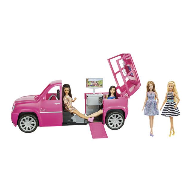 BARBIE Muñecas Barbie (4) y su limusina. HASTA LAS 10:00H