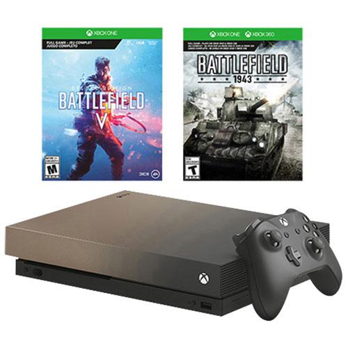 Xbox One X + Battlefield V + BF 1 + BF 1943 Revolution +  EA Access +  Xbox Live Gold