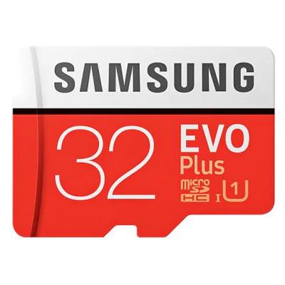 Samsung EVO Micro SD 32 GB solo 10.8€