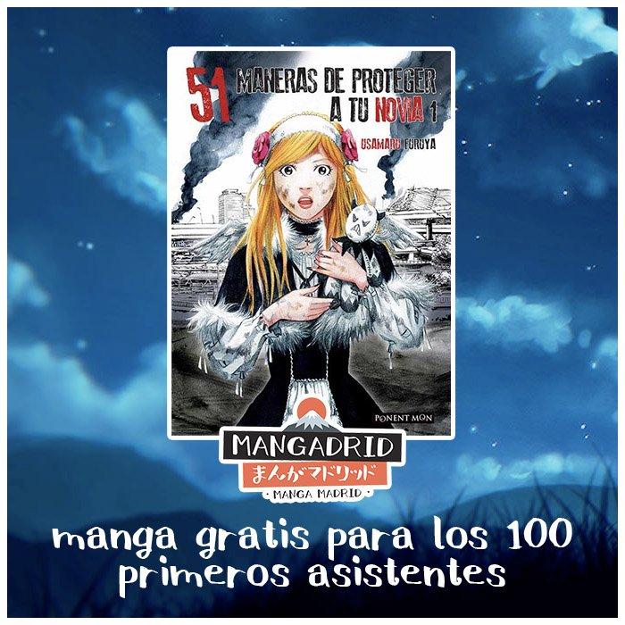 Manga gratis para los 100 primeros asistentes al Mangadrid