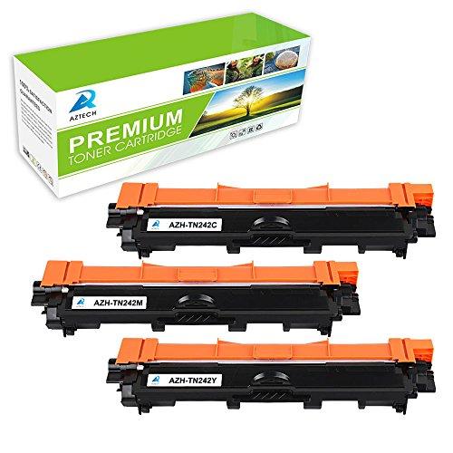 Pack de 3 tóner color TN-242x para Brother Y/M/C (REACONDICIONADOS)