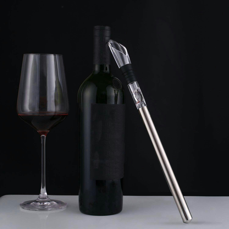 Enfriador, vertedor y aireador de vino Kealive