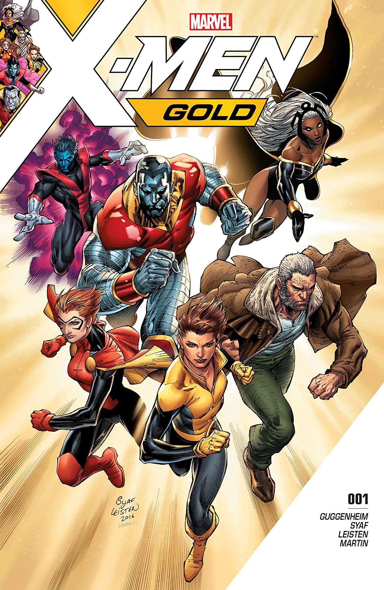 Nuevos cómics gratuitos X-mens (Comixology)