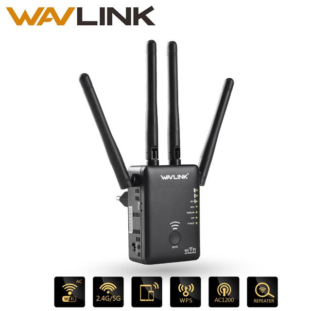 Wavlink AC1200 WiFi - Repetidor/Router/Punto de acceso