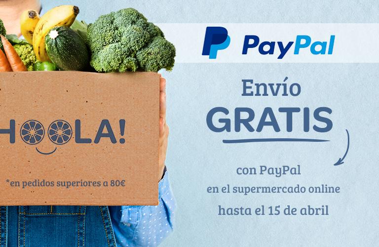 Carrefour Supermercado Envio Gratis a partir de 100€ pagando con paypal
