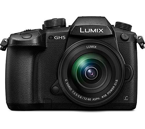 """Panasonic LumixG DC-GH5 - Cámara sin Espejo de 20.3 MP (Pantalla de 3.2"""", Visor óptico OLED, estabilizador Dual I.S. 2 5 Ejes, 4K, WiFi)"""