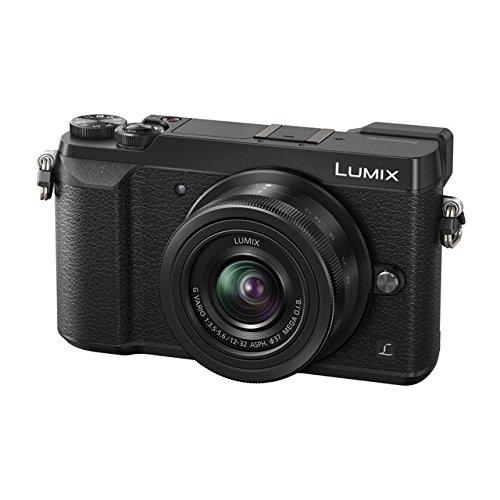 """Panasonic Lumix DMC-GX80 - Cámara Digital de 16 MP (Pantalla de 3"""", 4K, Lumix G Vario de 12-32 mm F3.5-5.6 Mega OIS)"""