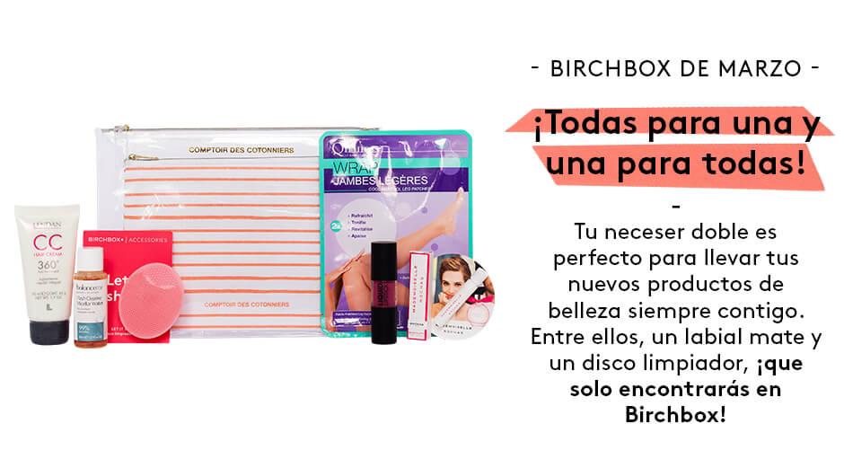 Caja de Birchbox por solo 7€