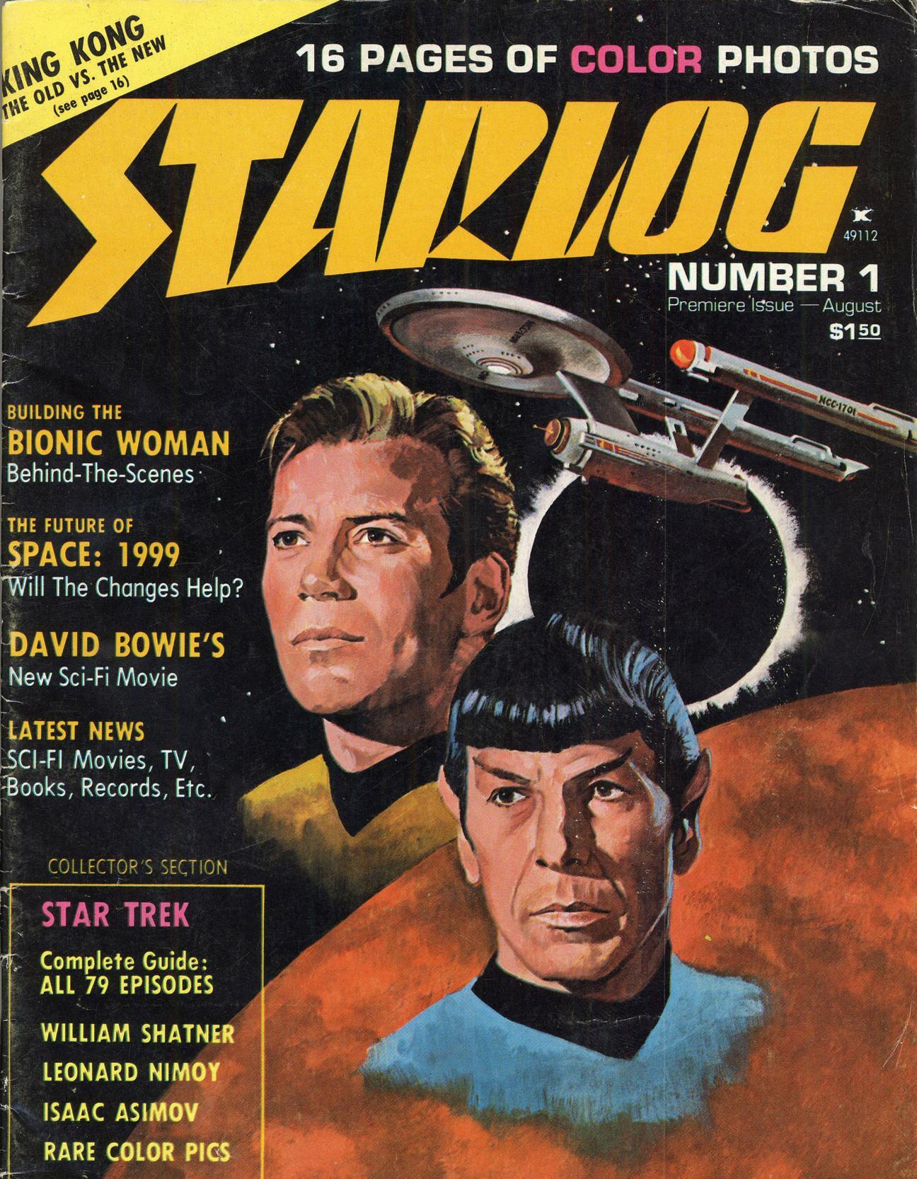 STARLOG MAGAZINE, 420 números gratuitos online