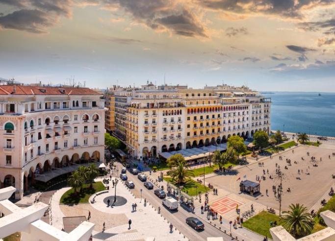 Vuelo directo (ida y vuelta) a Salónica desde Gerona