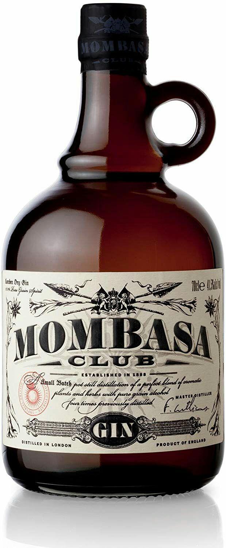Mombasa Club - Ginebra, Botella 70 cl