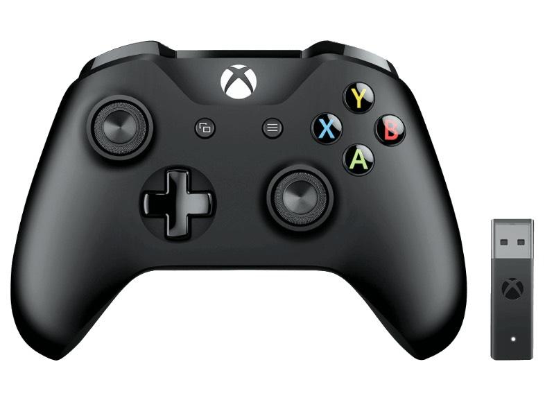 Mando Xbox con adaptador inalámbrico por solo 39€