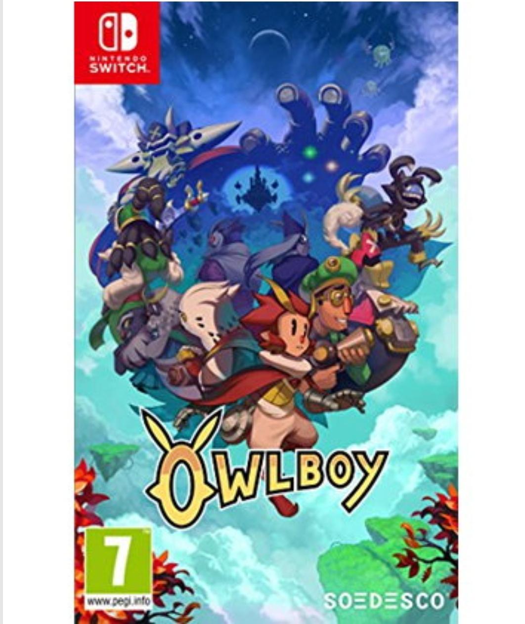 Owlboy Nintendo Switch