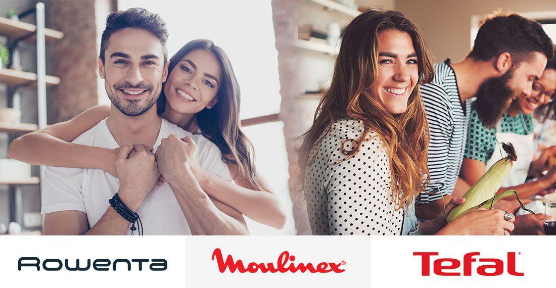 Prueba gratis productos de Rowenta, Moulinex y Tefal, y puedes quedartelos a mitad de precio