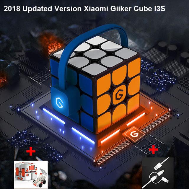 Versión actualizada  2018 Xiaomi Mijia Giiker i3s Super cubo inteligente