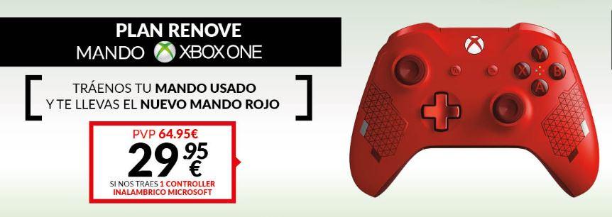 PLAN RENOVE MANDO XBOX ONE
