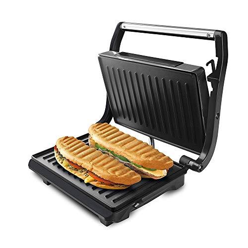 Taurus Grill & Toast Sandwichera, 700 W, Placas de Grill Antiadherentes