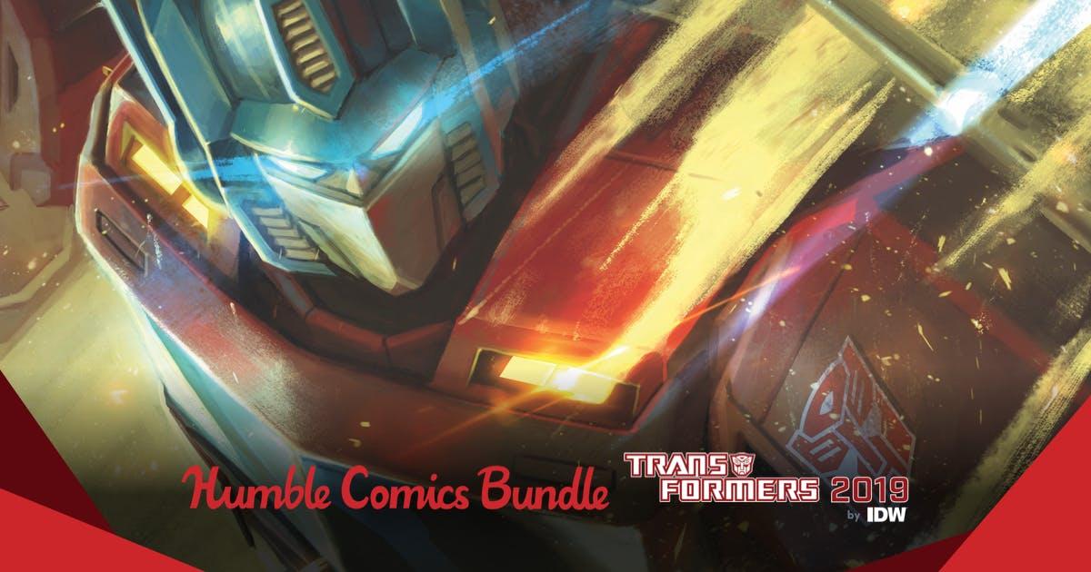 Bundle: Comics de Transformers - HumbleBundle