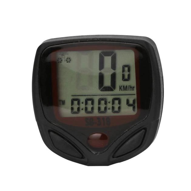 Cuentakilómetros bicicleta, impermeable, pantalla LCD
