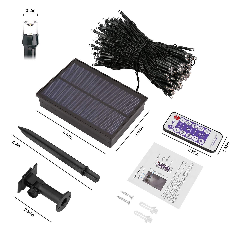 Guirnaldas Solares con Control Remoto