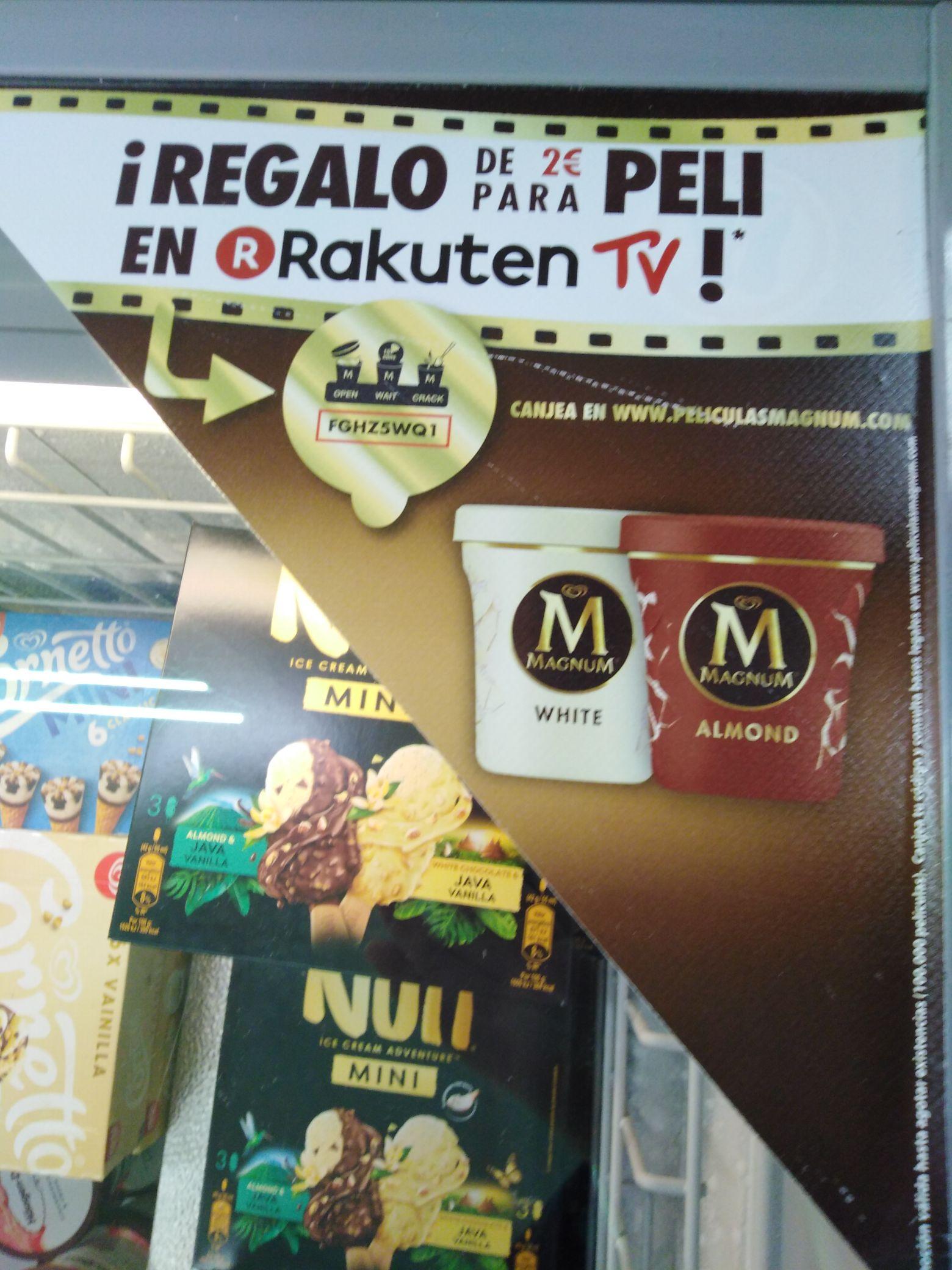 2€ en películas en Rakuten