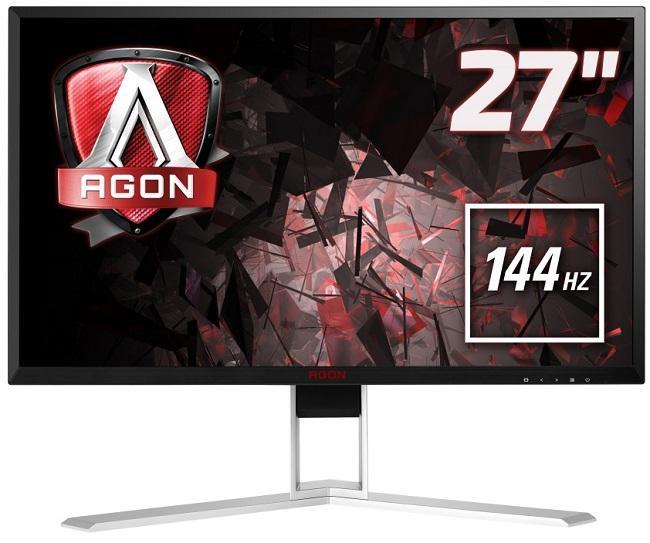 "AOC Agon AG271QX 27"" 1440p 144 Hz 2K Negro/Rojo - Monitor"