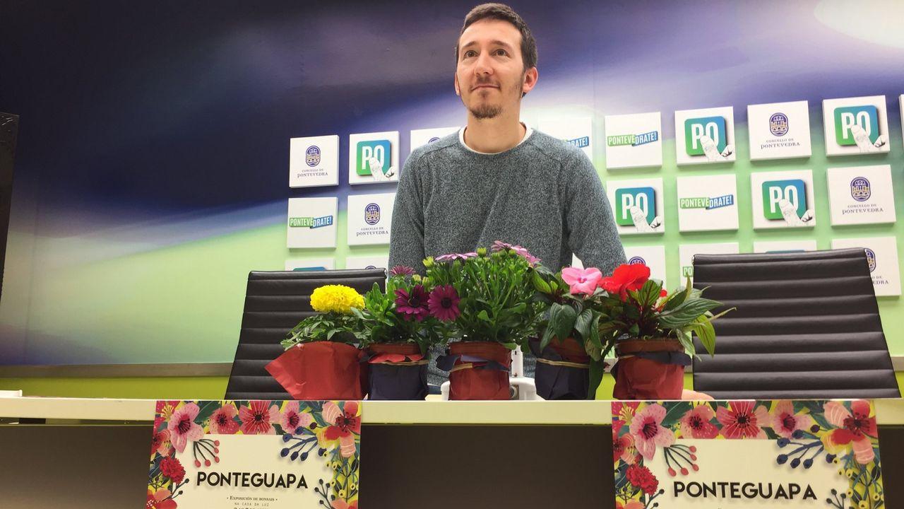 ragalan flores también en.......primavera - Pontevedra -