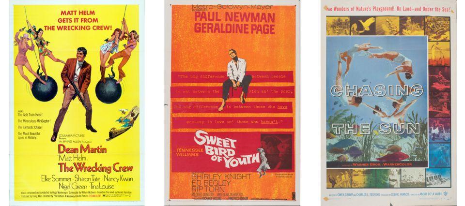 Carteles de cine digitalizados gratis