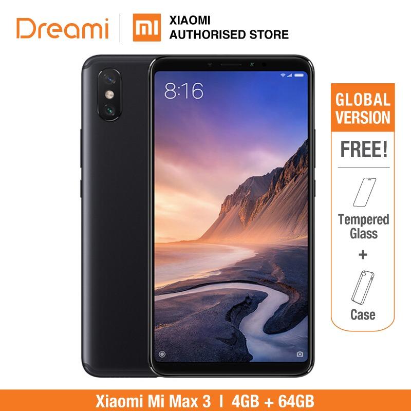 Versión Global Xiaomi Mi Max 3 64GB ROM 4GB de RAM (Nuevo y Sellado)