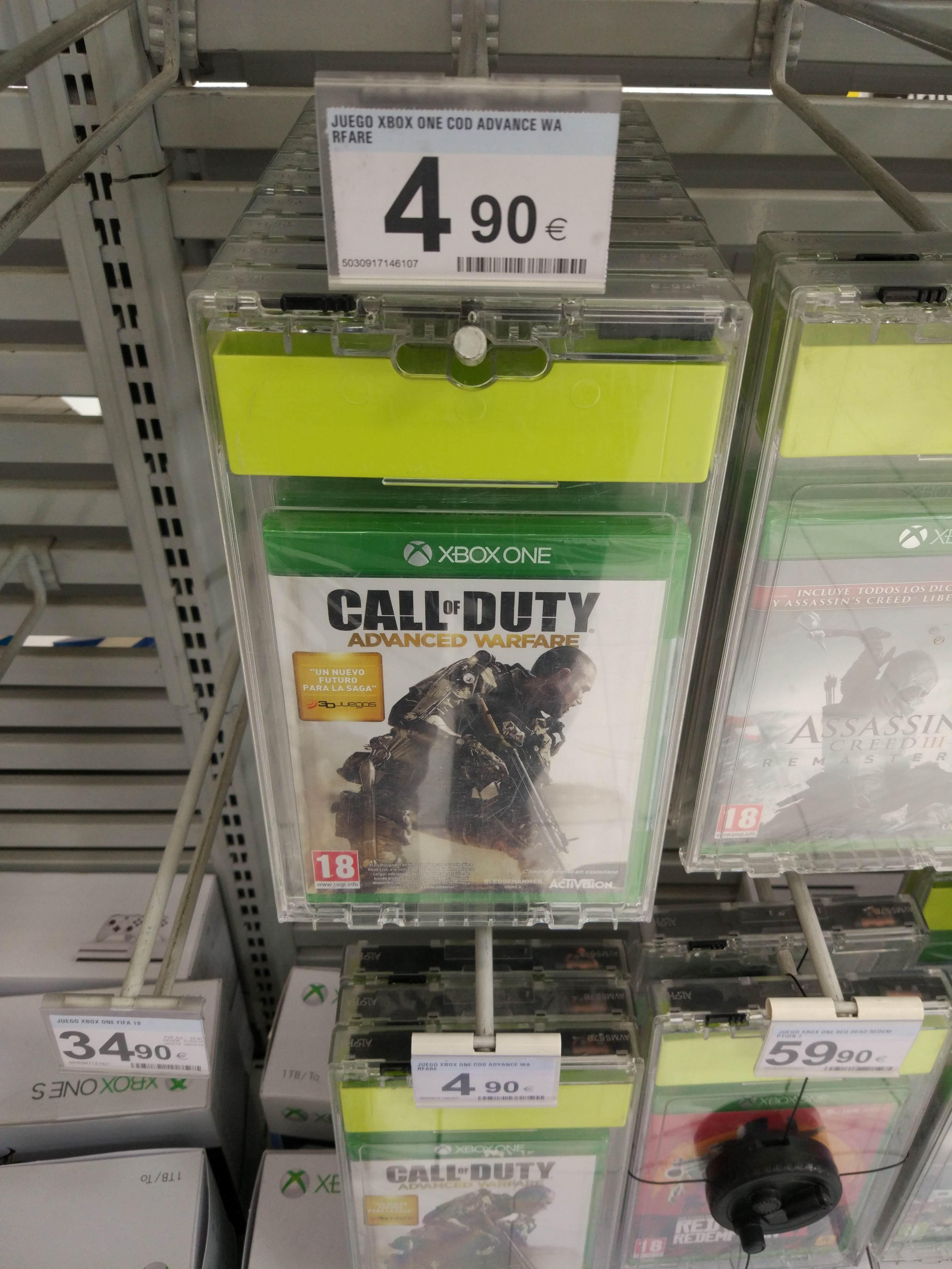 XBOX ONE: Call of duty: Advanced Warfare