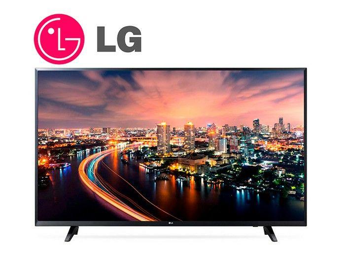 "Smart TV 49"" LG 49UJ620V Ultra HD 4K LED"