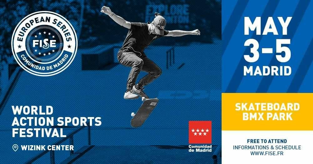Entradas gratis, festival deportes acción . Corredores profesionales BMX, Skaters....