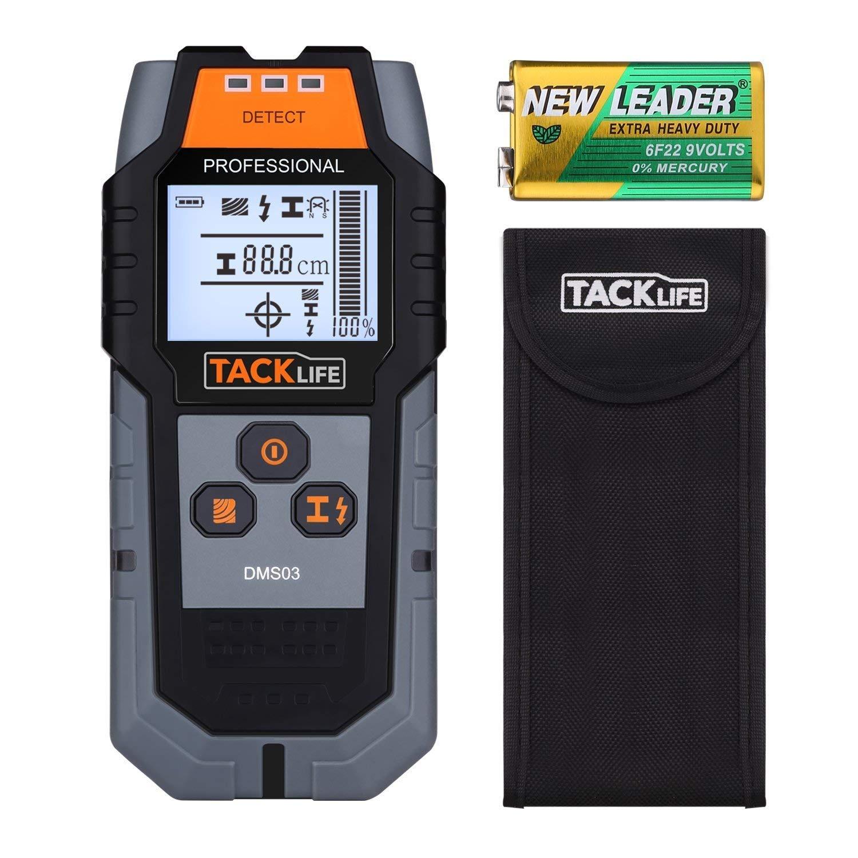 Tacklife DMS03 - Escáner de Pared Multifuncional